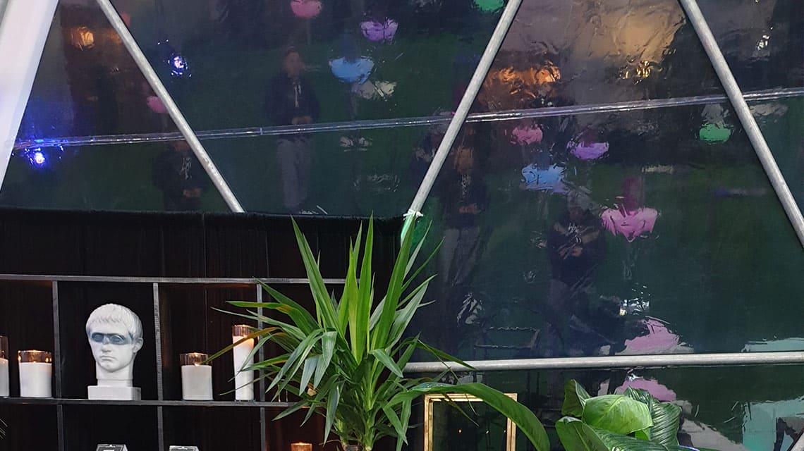 Тентовые оранжереи и теплицы для растений