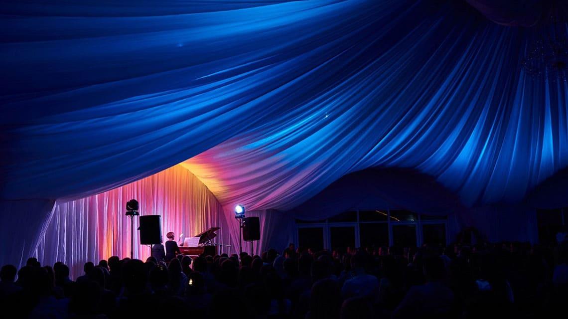 Сценический свет для шатра